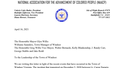 naacp letter