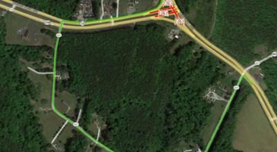 route 17 detour
